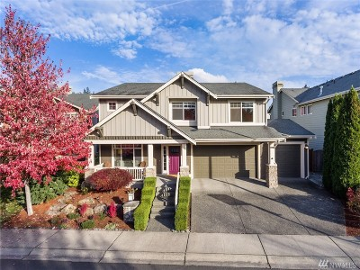 Sammamish Single Family Home For Sale: 432 209th Place SE
