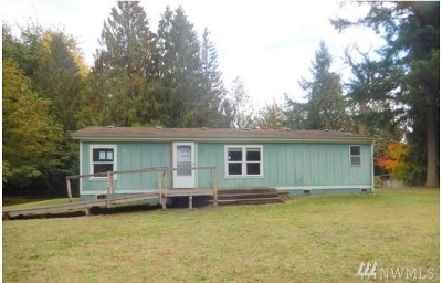 Graham WA Single Family Home For Sale: $164,300