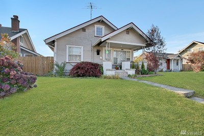 Tacoma Single Family Home For Sale: 6304 S Park Ave