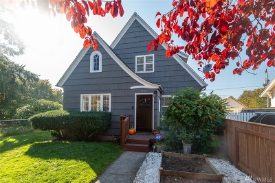 Tacoma Single Family Home For Sale: 4042 S Bell St