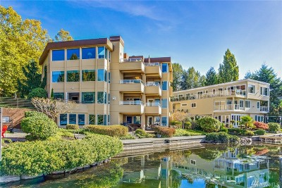 Kirkland Condo/Townhouse For Sale: 4511 Lake Washington Blvd NE #2