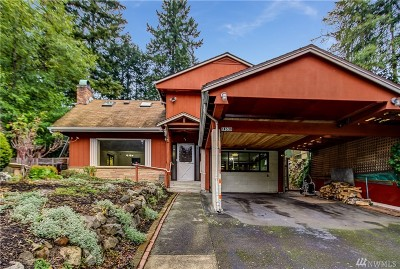 Shoreline Single Family Home For Sale: 14538 Interlake Ave N