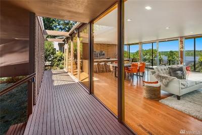 Mercer Island Single Family Home For Sale: 4848 E Mercer Wy