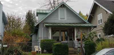 Tacoma Single Family Home For Sale: 3716 S 7th St