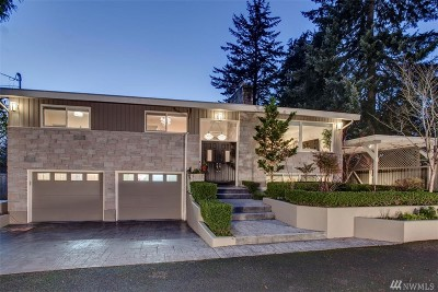 Mercer Island Single Family Home For Sale: 7219 SE 32nd St