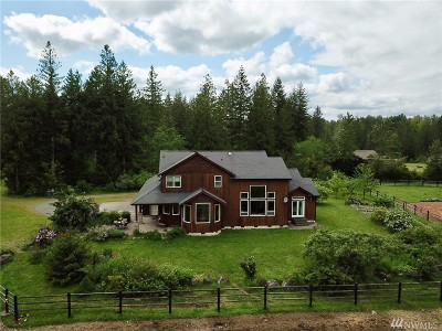 Eatonville Single Family Home For Sale: 37120 36 Ave E