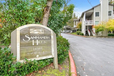 Issaquah Condo/Townhouse For Sale: 18505 SE Newport Wy #A105