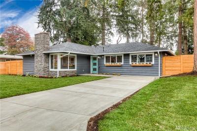 Bellevue Single Family Home For Sale: 16251 NE 2nd St NE
