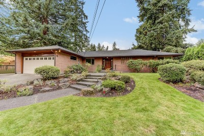 Lake Forest Park Single Family Home For Sale: 15615 34th Ave NE