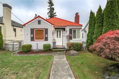 Seattle Single Family Home For Sale: 4006 35th Ave SW