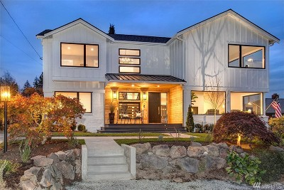 Seattle Single Family Home For Sale: 4518 NE 110th St