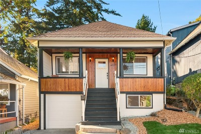 Seattle, Bellevue, Kenmore, Kirkland, Bothell Single Family Home For Sale: 4137 41st Ave S