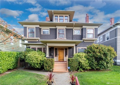 Tacoma Single Family Home For Sale: 1907 N Prospect St