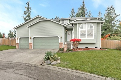 Spanaway Single Family Home For Sale: 8609 194th St Ct E