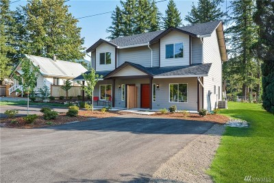North Bend, Snoqualmie Condo/Townhouse For Sale: 45525 SE 141st St