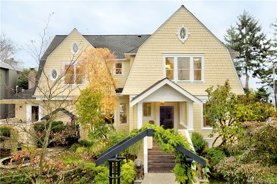 Seattle Single Family Home For Sale: 1600 35th Ave