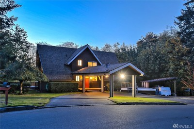 Port Orchard Single Family Home For Sale: 2312 Evergreen Ave SE