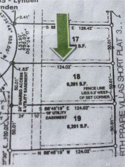 Lynden Residential Lots & Land For Sale: 2266 Shea St