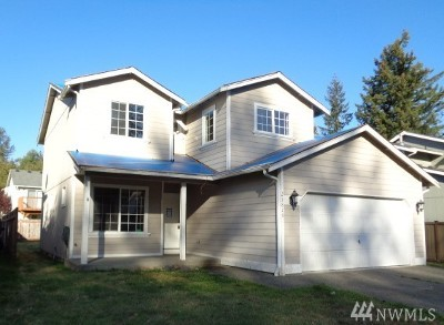 Spanaway Single Family Home For Sale: 21818 65th Av Ct E