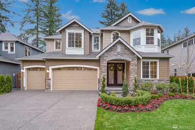 Sammamish Single Family Home For Sale: 2122 215th Place SE