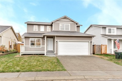 Spanaway Single Family Home For Sale: 1226 201st St Ct E