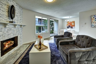 Bellevue Condo/Townhouse For Sale: 15721 NE 18th St #D4