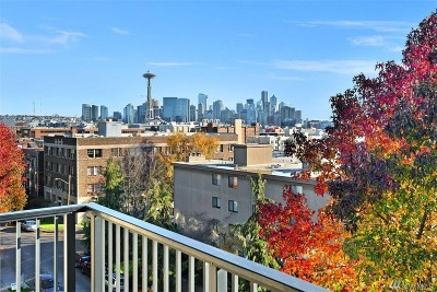 Seattle Condo/Townhouse For Sale: 500 W Roy St #W406