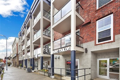 Bellingham Condo/Townhouse Sold: 1031 N State St #409