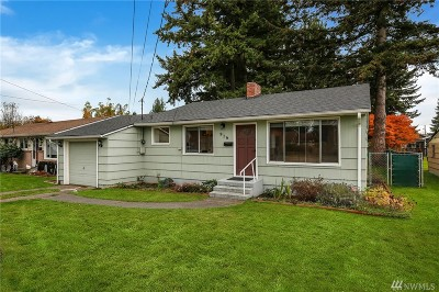 Marysville Single Family Home For Sale: 919 Union Ave