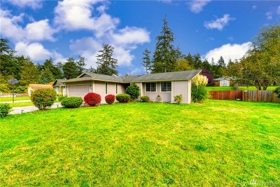 Oak Harbor WA Single Family Home For Sale: $299,000
