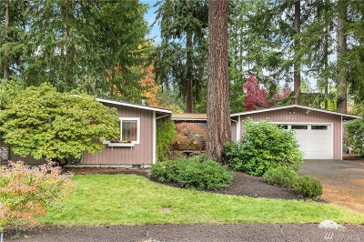 Bellevue Single Family Home For Sale: 2414 161st Ave NE
