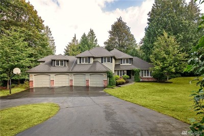 Sammamish Single Family Home For Sale: 4356 202nd Ave NE