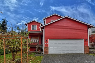 Snohomish Single Family Home For Sale: 1026 Lake Crest Dr