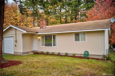 Shelton WA Single Family Home Sold: $189,500