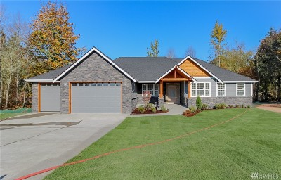 Port Orchard Single Family Home For Sale: 15789 Pin High Place SW #Lot#1