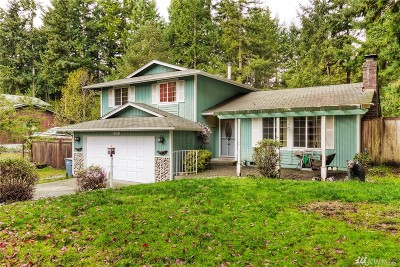 Gig Harbor Single Family Home For Sale: 1611 115th Ct NW