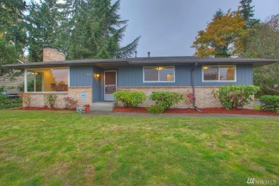 Renton Single Family Home For Sale: 463 Lind Ave NW