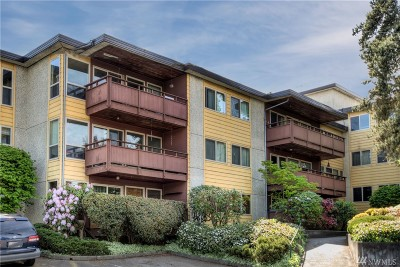 Seattle Condo/Townhouse For Sale: 13433 Roosevelt Wy N #204