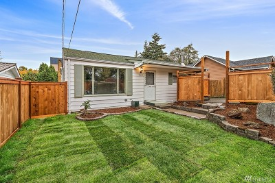 Seattle Single Family Home For Sale: 7021 S 116th Place