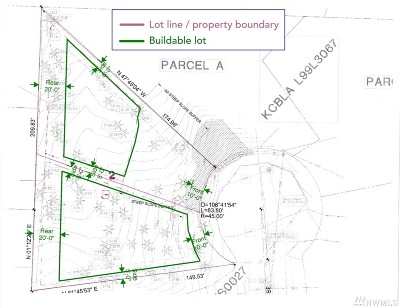 Bellevue Residential Lots & Land For Sale: 3305 166th Place SE