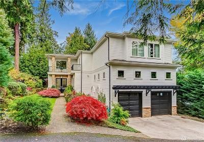 Mercer Island Single Family Home For Sale: 7646 N Mercer Wy