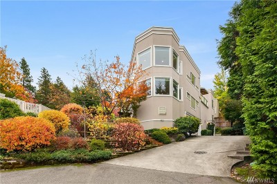Mercer Island Condo/Townhouse For Sale: 8035 SE 33rd Place #1