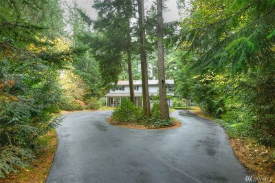 Olympia Single Family Home For Sale: 7935 Kelly Beach Rd SE