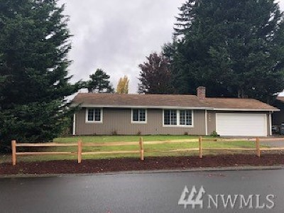 Olympia Single Family Home For Sale: 8724 Quinault Lp NE