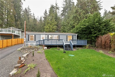 Snohomish Single Family Home For Sale: 2711 S Lake Roesiger Rd