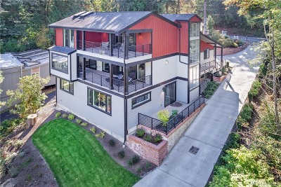 Redmond Single Family Home For Sale: 2656 W Lake Sammamish Pkwy NE