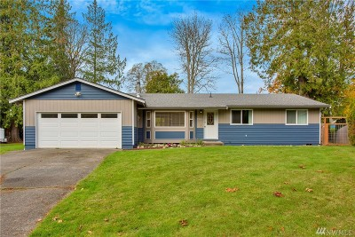 Bellingham Single Family Home Sold: 3921 W Cedarbrook Ct