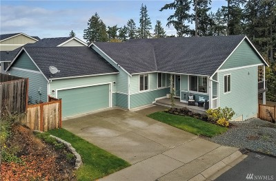 Spanaway Single Family Home For Sale: 4011 203rd St Ct E
