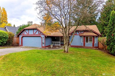 Bothell Single Family Home Contingent: 16701 3rd Dr SE