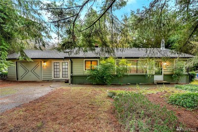 Lake Forest Park Single Family Home For Sale: 15606 33rd Ave NE